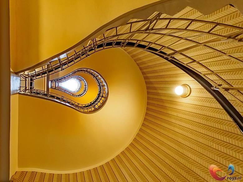 Architectuur in Praag - De spirale trappen in Praag