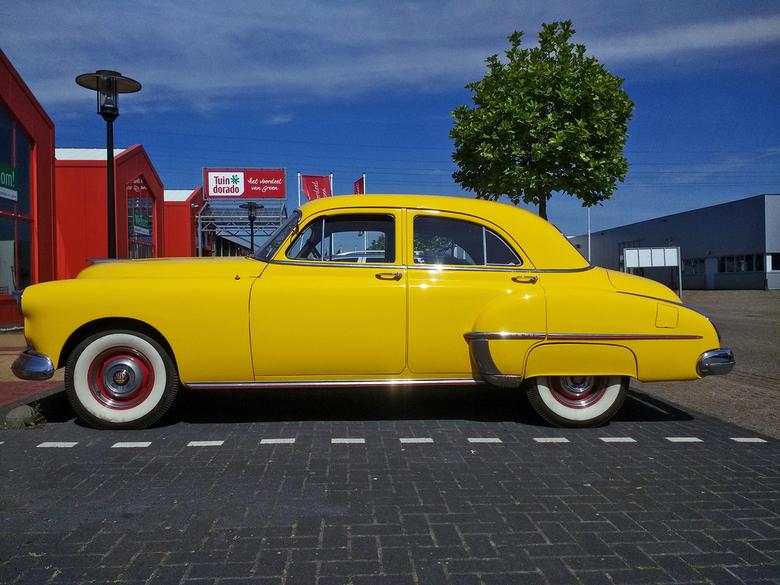 """Oldsmobile Futuramic Sedan 1950 - 1950 Oldsmobile Futuramic Series 76 Model 3569 4-door Sedan (Fisher body)<br /> <br /> <a href=""""https://www.flickr"""
