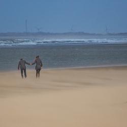 uitwaaien op het strand van Ouddorp...