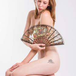 Lottie with fan