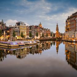 Reflecties aan de Amstel