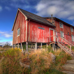 Oud vissershuisje