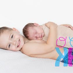 grote broer met kleine zus
