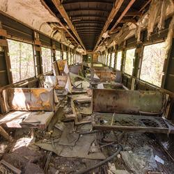 Prypiat (verdrijvingszone Tsjernobyl - Oekraïne) - Treinstation - 03