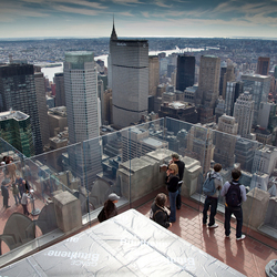 From the Top of the Rock...