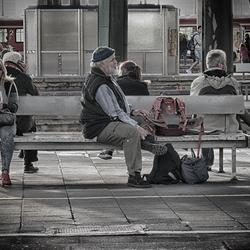 Waiting for the train II