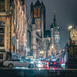 The streets of Gent