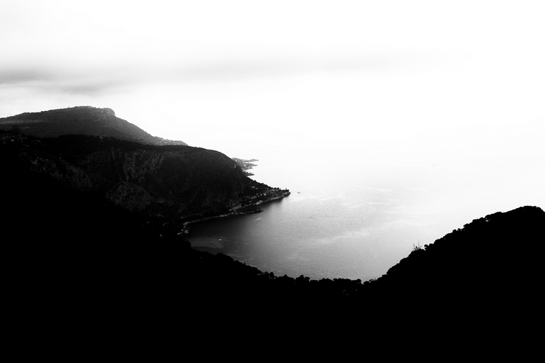 Uitzicht vanaf de Grande Corniche