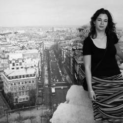 Op de Arc d' Triomphe, of toch niet?