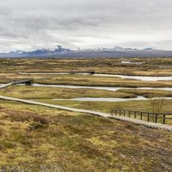 Thingvellir op IJsland