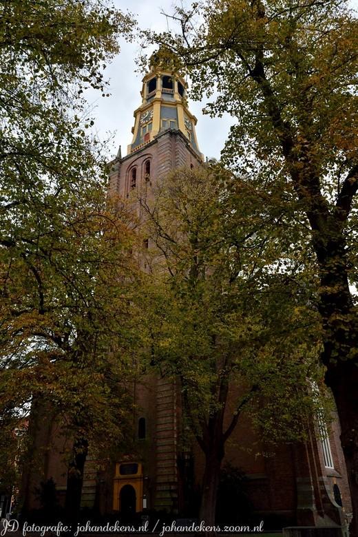 A-Kerk Groningen. - Er is wat verwarring over de naam van de kerk, die de meeste stadjers kennen als de A-kerk. Van oorsprong heette hij de Kerk van O