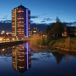 Stadskanaal by night