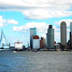 Rotterdam vanaf de Maas