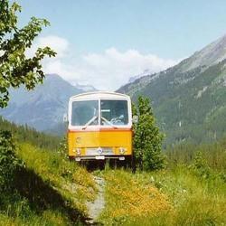 Zwitserse autobus