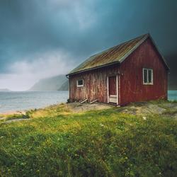 Storm op de Lofoten