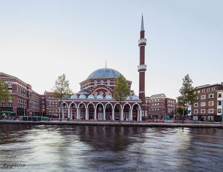 Westermoskee. - De Westermoskee in de Amsterdamse Baarsjes.