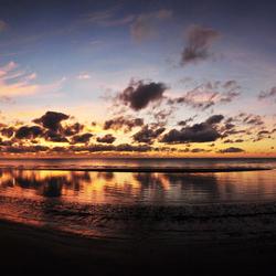 Zonsopkomst in Cape Tribulation - Australie