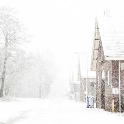Winter op de kazerne