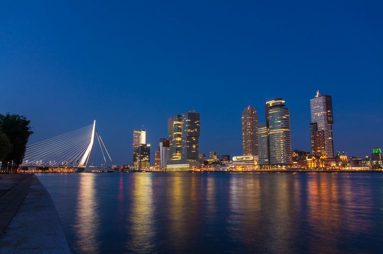 Rotterdam by night - Kop van Zuid