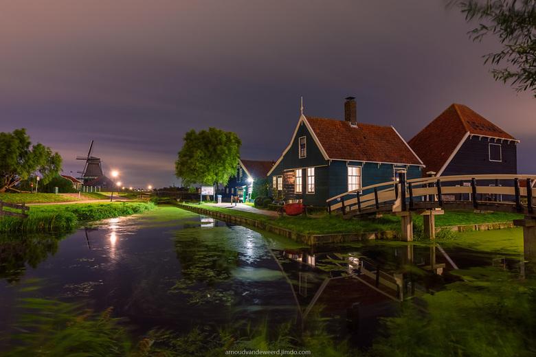 Zaanse Schans at Night