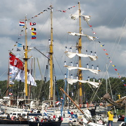 Intocht Sail noordzeekanaal
