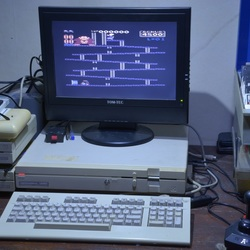 De Commodore 128D.