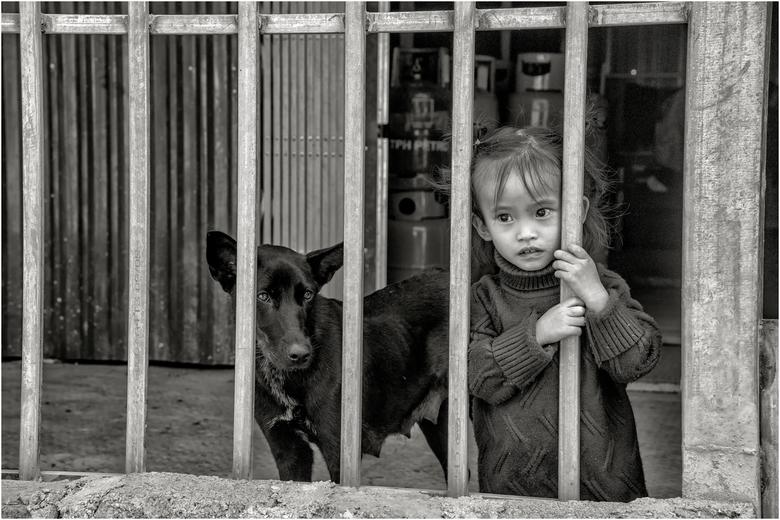 Veilig achter de poort -