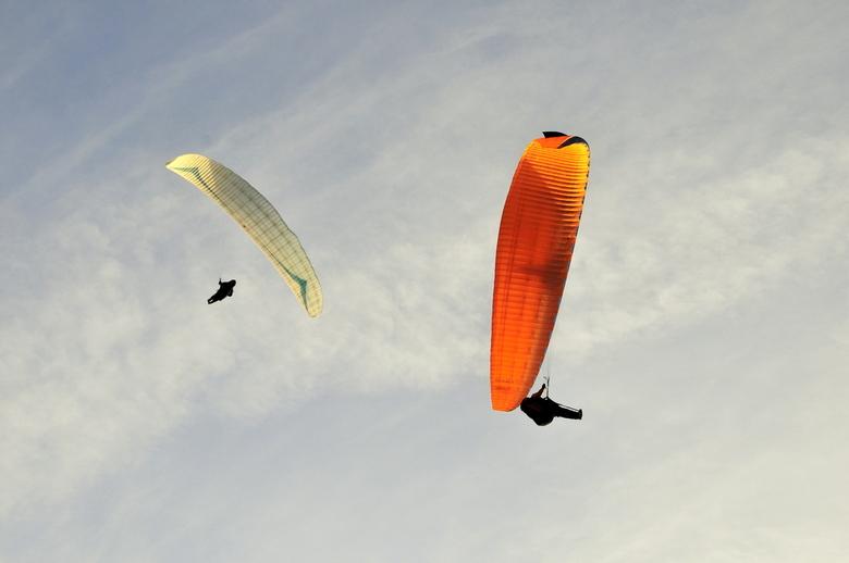 Parasailers in Zoutelande - Parasailers in Zoutelande
