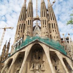 Sagrada Familia mei 2007