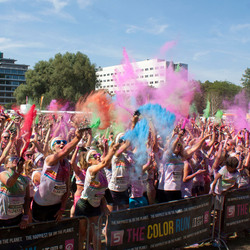 Color Run in Zwolle
