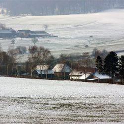 Winter in  het limburgse Epen