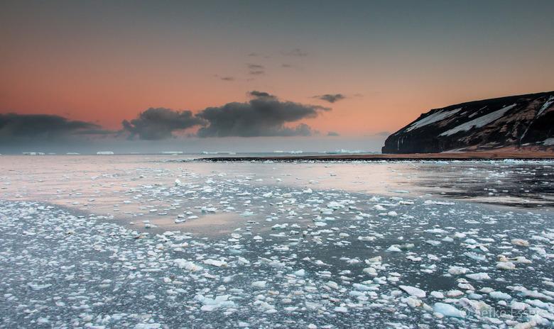 Sunrise Cape Adare - Antarctica