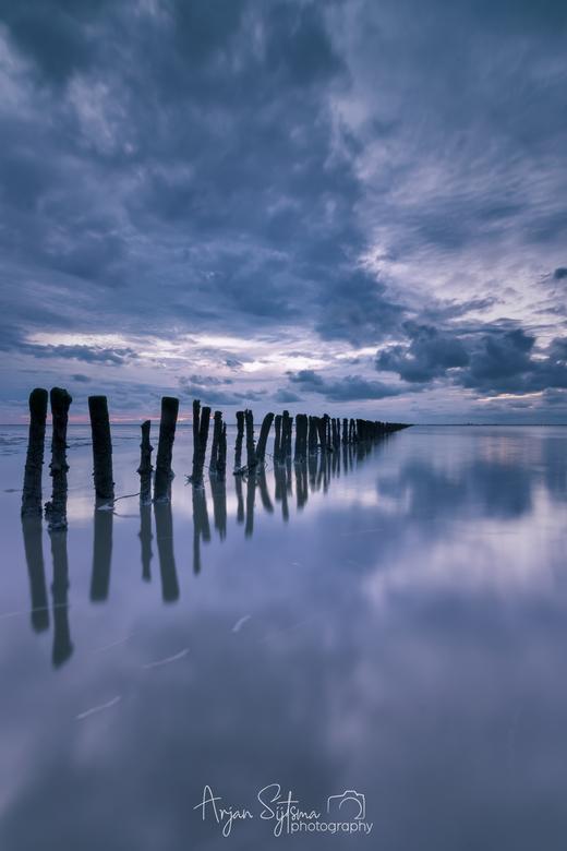 Blue mudflats II -