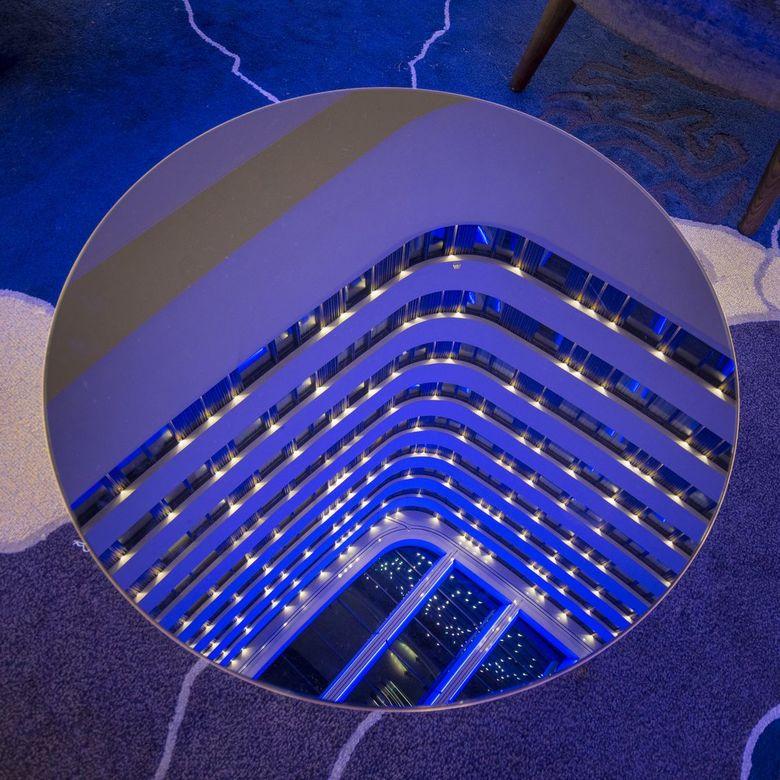 inside Hilton -