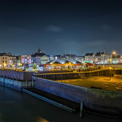 Vlissingen by night