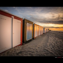 Domburg strandhuisjes