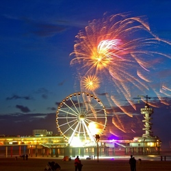internationaal vuurwerk festival Scheveningen 2016