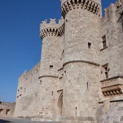 Grootmesters kasteel op Rhodos Griekenland