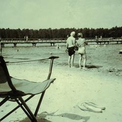 Nostalgie: op het 'strand'