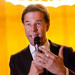 Mark Rutte, werkbezoek Amersfoort