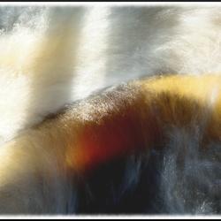 Abstract Zweden 2013: woelig water