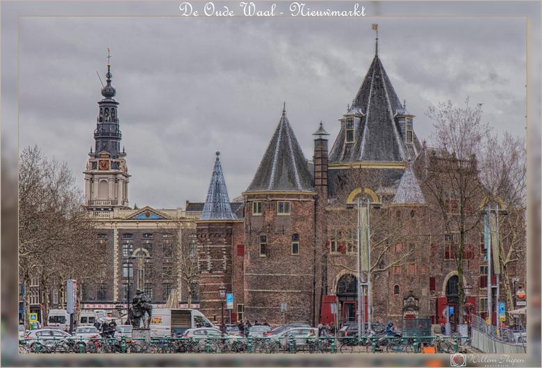 """De Oude Waag - Nieuwmarkt - De """"Oude"""" Waag is een 15e-eeuws gebouw op de Nieuwmarkt in het centrum van Amsterdam. Het was oorspronkelijk een"""