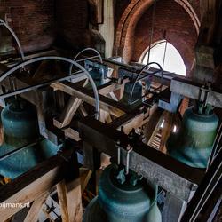 Martinitoren klok te Groningen