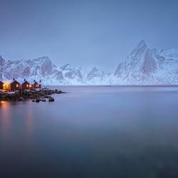 Huisjes in de Fjord