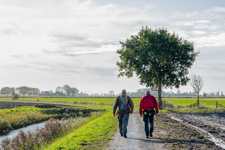 Na regen komt zonneschijn... - Ik heb afgelopen zaterdag deelgenomen aan een wandeltocht van 40 km in de provincie Groningen. Altijd prachtig wandelen