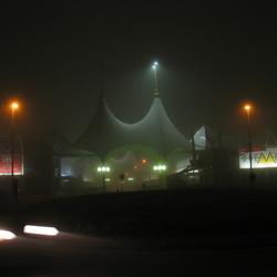 Doemere in de mist