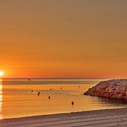 Zon-strand-bootje