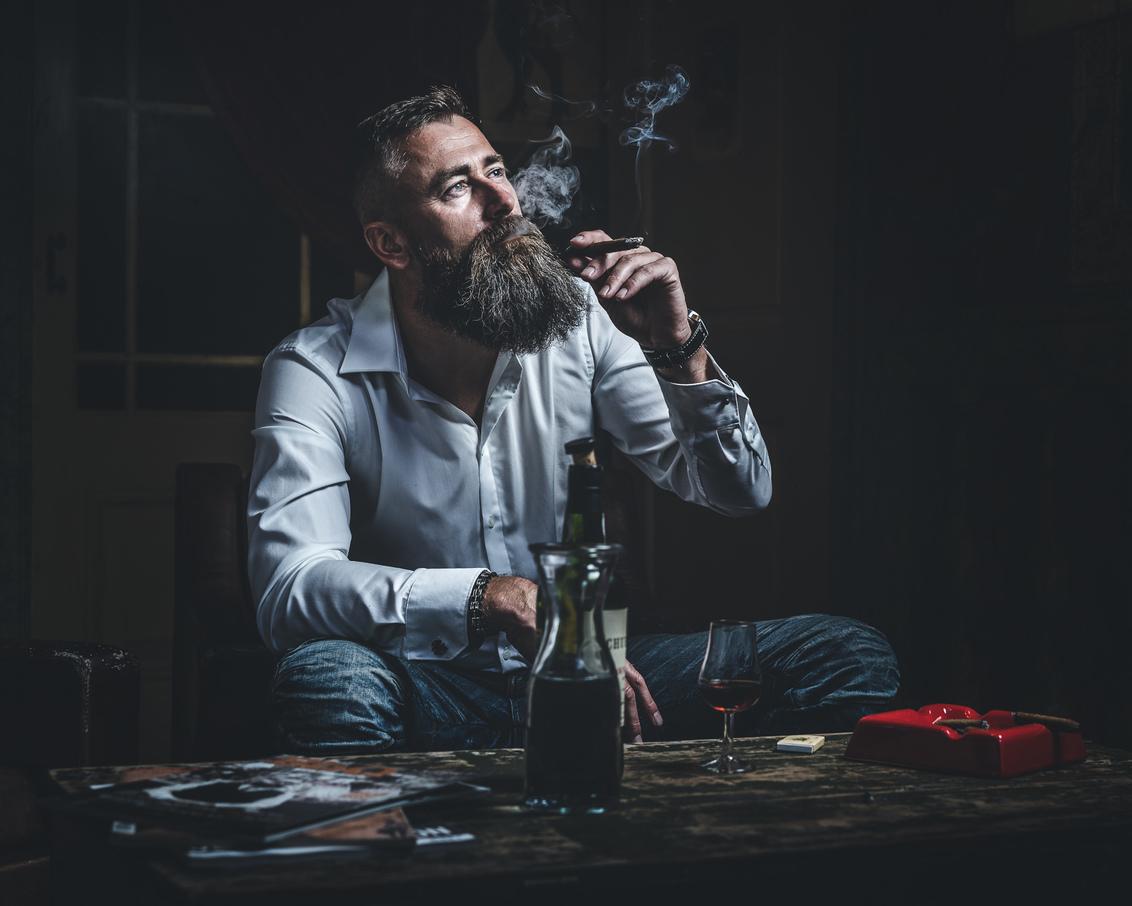 Cigar portrait