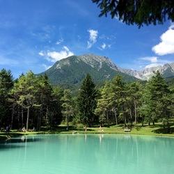 Blauw meer