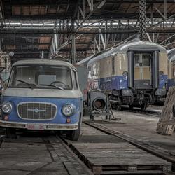 Little Blue Van